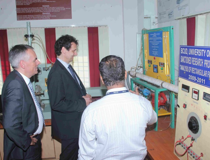 German delegation from SRH University HEIDELBERG visits JSPM for collaboration
